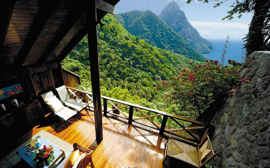 Bývanie na ostrove Sv. Lucia
