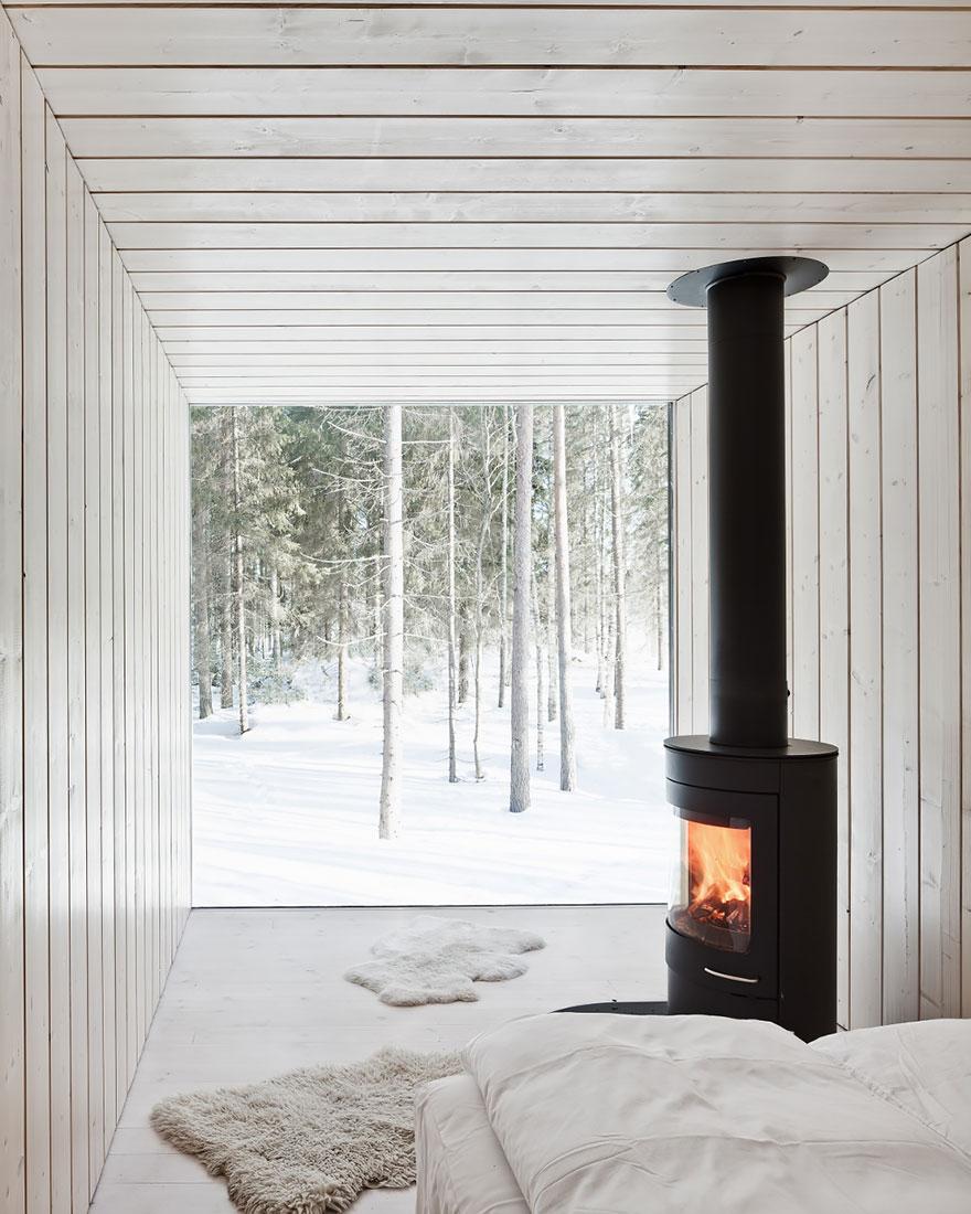 Bývanie v zime vo Fínsku