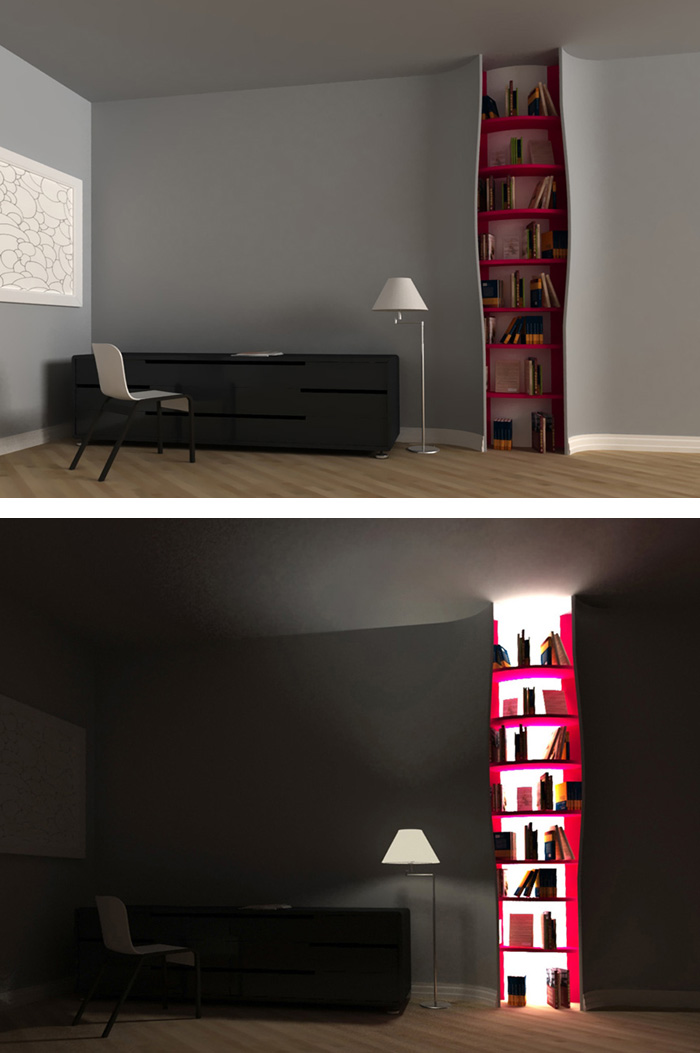 Knižnica ako lampa