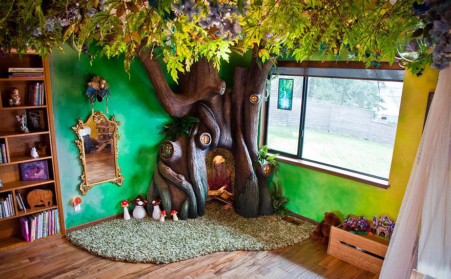 Rozprávková detská izba