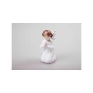 Anjel moderný klačiaci 12cm