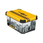 CURVER – Dekoratívny úložný box – S – NEW YORK