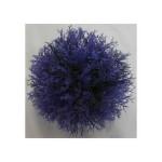 Dekorácia guľa fialová 20cm