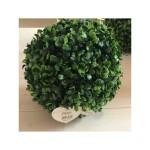 Dekorácia guľa zelená 24cm