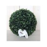 Dekorácia guľa zelená 26cm