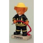 Medveď hasič 20cm 9098