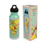 Antikoro cestovná fľaša Rex London World Map