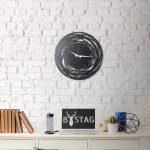 Kovové nástenné hodiny Ball, 50×50 cm