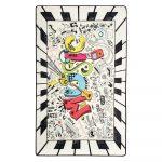 Detský protišmykový koberec Chilam Music, 100 x 160 cm