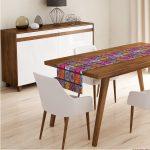 Behúň na stôl z mikrovlákna Minimalist Cushion Covers Nehteo, 45x145cm