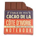 Zápisník v tvare tabuľky čokolády Rex London Chocolate Notebook