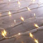 Predĺženie LED transparentnej svetelnej reťaze DecoKing Christmas, 200 svetielok, dĺžka 1 m