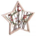 Vianočná dekorácia Unimasa Star Trunks, ø 48 cm