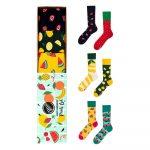 Sada 3 párov ponožiek Many Mornings Fruits, veľ. 35-38