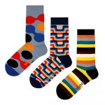 Set 3 párov ponožiek Ballonet Socks The 70s v darčekovom balení, veľkosť 36 – 40