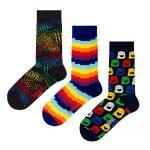 Set 3 párov ponožiek Ballonet Socks Ghost v darčekovom balení, veľkosť 36 – 40