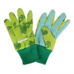 Detské zelené rukavice do záhrady Esschert Design