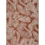 Oranžový vonkajší koberec Universal Sigrid, 58 x 110 cm
