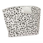 Bielo-čierna plážová taška Sunnylife Everything Bag