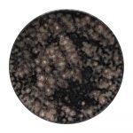 Sivý kameninový podnos Costa Nova Roda Iris, ⌀ 22 cm