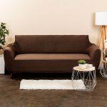 4Home Multielastický poťah na sedačku Comfort Plus hnedá, 180 x 220 cm, 180 – 220 cm