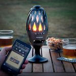 LED svietidlo s reproduktorom na Bluetooth InnovaGoods