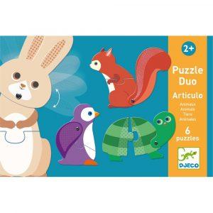 Detské puzzle Djeco Duo Movement