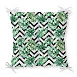 Sedák s prímesou bavlny Minimalist Cushion Covers Palm Leaves, 40 x 40 cm