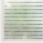Matná nálepka na sklo s ochranným filmom Ambiance Lines, výška 2 m