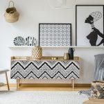 Dekoratívna tapeta na nábytok Ambiance Ethnic