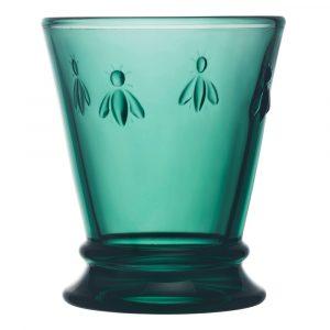 Smaragdovozelený pohár La Rochère Bee, 260 ml