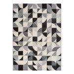 Sivý koberec Universal Adra Geo, 160 x 230 cm