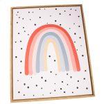 Obraz na plátne v ráme Rainbow, 40 x 50 cm