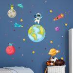 Detské samolepky na stenu Ambiance Astronaut