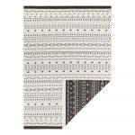 Čierno-krémový vonkajší koberec Bougari Kuba, 80 x 150 cm