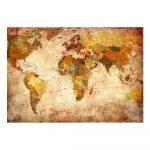 Veľkoformátová tapeta Artgeist Old World Map, 200 x 140 cm