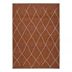 Hnedo-oranžový vonkajší koberec Universal Sigrid, 154 x 230 cm