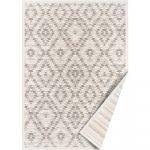 Bielo-sivý obojstranný koberec Narma Vergi, 200 x 300 cm