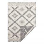 Sivo-krémový vonkajší koberec Bougari Malibu, 290 x 200 cm