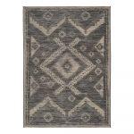 Sivý vonkajší koberec Universal Devi Ethnic, 80 x 150 cm