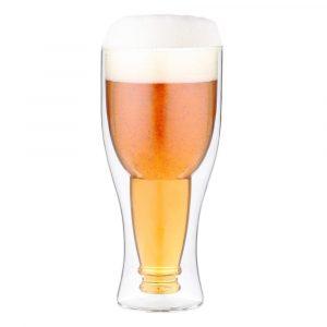 Dvojstenný pivný pohár Vialli Design, 350 ml