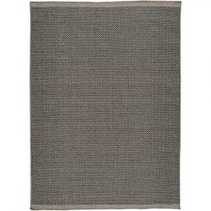 Sivý vlnený koberec Universal Kiran Liso, 140 x 200 cm