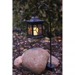 LED solárny záhradný lampáš Star Trading Light