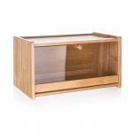 Banquet Chlebník drevený BRILLANTE 38 × 22 × 20 cm, s plastovým vekom